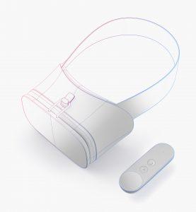 "Google's ""Daydream"" VR headset"