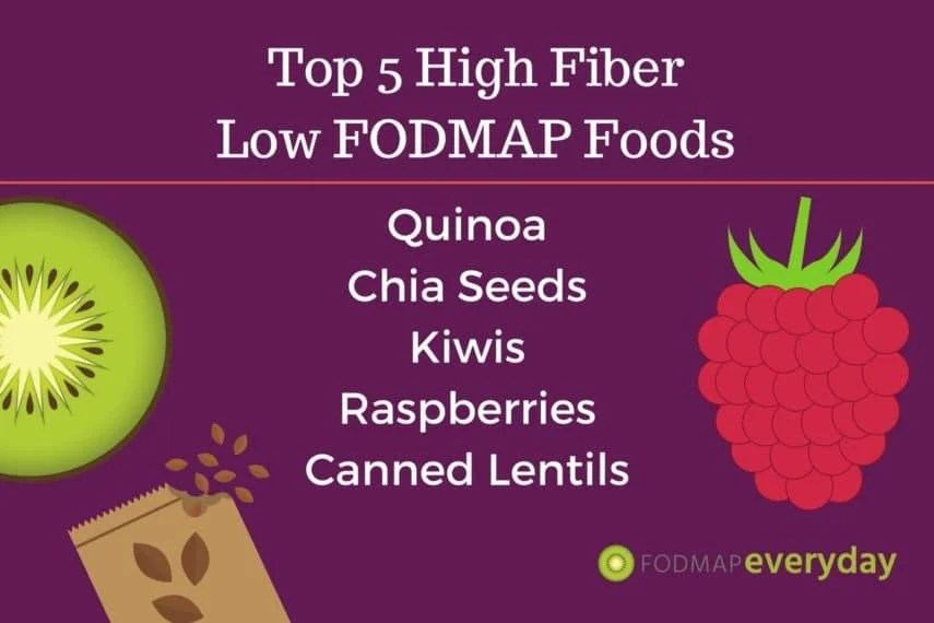 TOP 5 HIGH FIBER LOW FODMAP FOODS - FODMAP Everyday