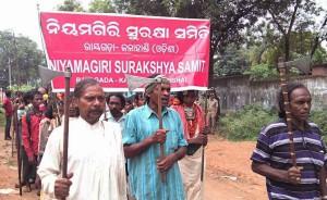 Adivasi leaders in Muniguda