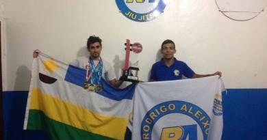 Vanderson Silva e Mestre Rodrigo Aleixo