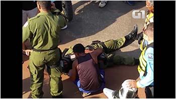 Segundo-testemunhas-o-carro-avançou-a-preferencial-na-Rua-Icoaracy-Nunes-e-atingiu-a-motocicleta-do-policial