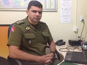 Capitão Joselde Barbosa, responsável pela Corregedoria da Polícia Militar em Santarém (Foto: João Machado/G1)
