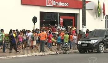 Agência do Bradesco em Santarém