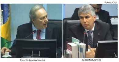 lewandowski, Gilberto Martins e Soberania