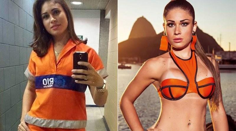 Rita Mattos, a Gari Gata, é capa da Playboy de setembro (Foto: instagram e Div. Playboy)