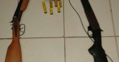 Armas presas