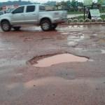 Chuva provoca alagamentos e causa transtornos a moradores em Novo Progresso
