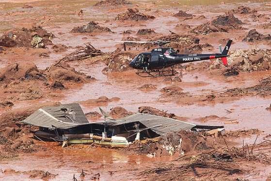 A tragédia deve transformar-se na mais grave na área ambiental do Estado.