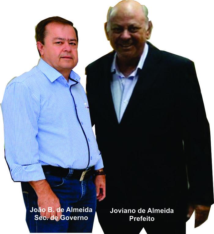 João de Almeida Secretario de Governo da as ordens na Prefeitura