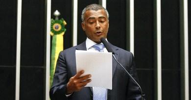 Romário pede apoio da Procuradoria para investigações da CPI do Futebol