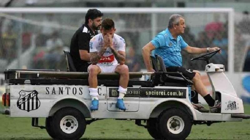 Foto© Gazeta Press Lucas Lima deixou o campo chorando