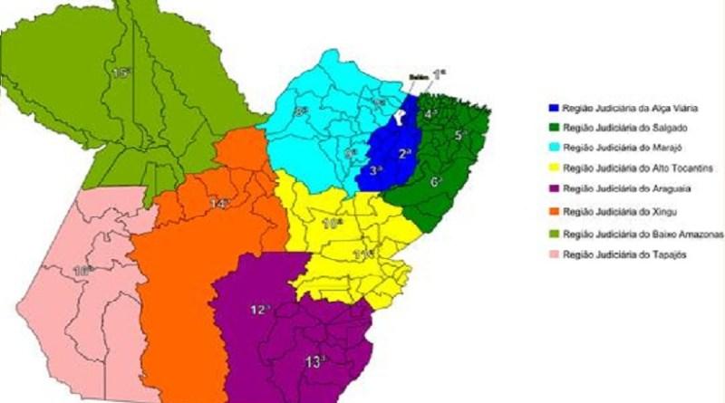 TJPA -Resolução une Regiões Judiciárias- Novo Progresso pertence 16ª Região Judiciária