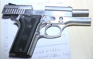 Arma apreendida com bandido