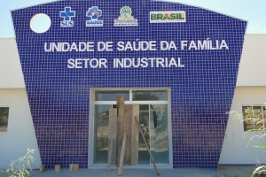 Posto USF do Setor Industrial (Foto Jornal Folha do Progresso)