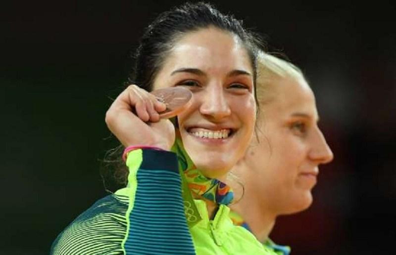 Mayra Aguiar (bronze) - judô