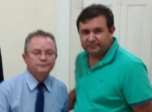 Macarrão e Zequinha Marinho (vice-Governador)