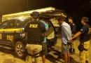 Carro roubado é apreendido na BR-010, em Ipixuna do Pará.
