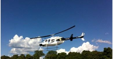 Helicóptero do Ibama foi usado para lazer com funcionários do órgão em Novo Progresso.