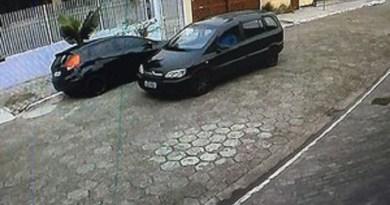 Sargento da PM foi identificado após mulher reconhecer carro em imagens (Foto: G1)