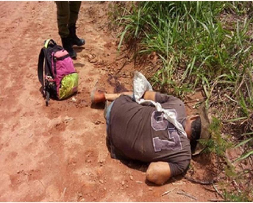 Corpo perfurado a bala é encontrado na Vicinal Jamanxim