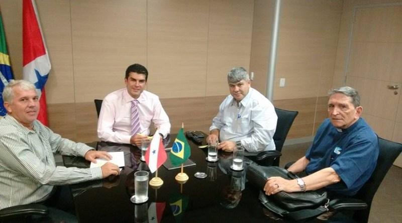 Vice-prefeito eleito, Gelson Dill (PMDB) viaja a Brasília em busca de investimentos para o Municio de Novo Progresso.