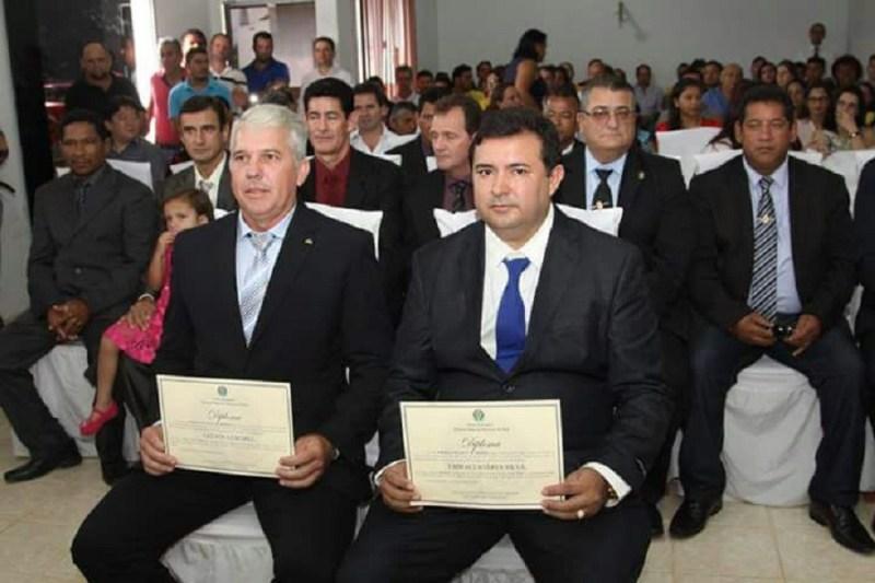 Vice Gelson Dil e Prefeito Macarrão