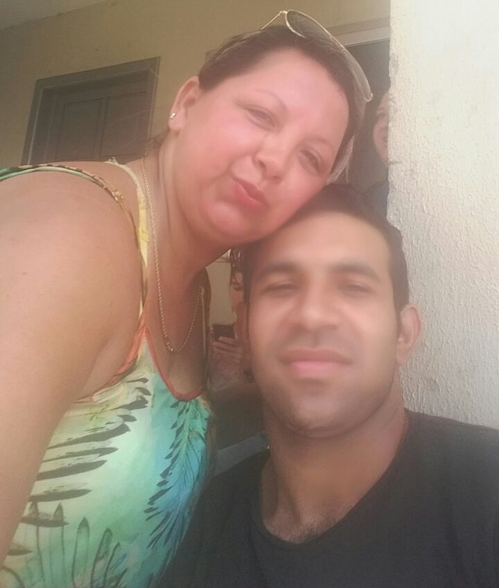 Eliane dos Santos  Amorim  e Benevito Figueiredo