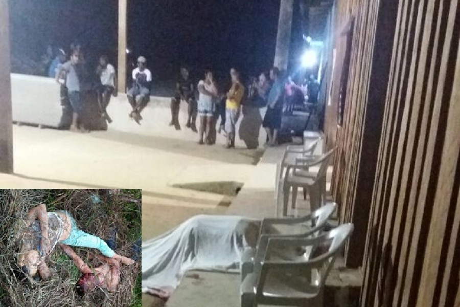 Encapuzados fazem três vitimas  no garimpo São Raimundo- Imagens Fortes!