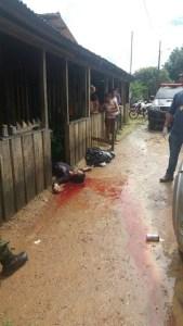 vitima assassinada na comunidade três Bueiras