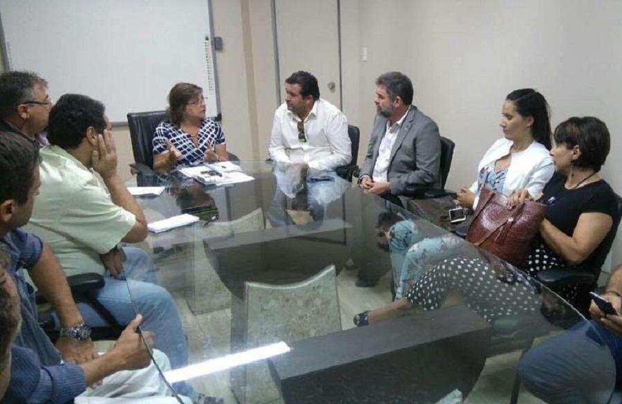 Em Belém - Prefeito procura melhorias para educação do Município