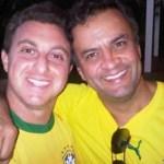 Luciano Huck apaga fotos com Aécio Neves de suas redes sociais e é criticado: 'Que feio'