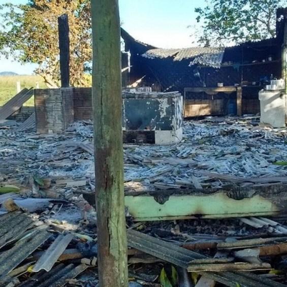Fazenda onde ocorreu a chacina (Foto: Ascom/PC)