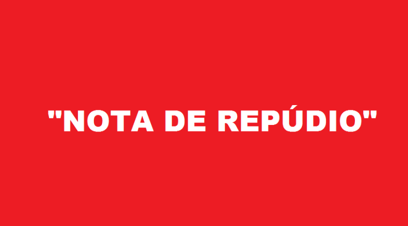 NOTA REPUDIO