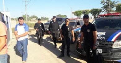 Em Junho daquele  uma operação Conjunta entre  Policiais Civis de Novo Progresso e do Baixo Amazonas  para prender envolvidos em assalto de bovinos na região.(Foto Divulgação Policia)