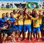 Brasil vence Portugal e conquista o Mundialito de futebol de areia pela 12ª vez