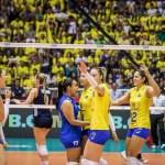 Cuiabá: Brasil supera Estados Unidos e vai às finais do Grand Prix de vôlei