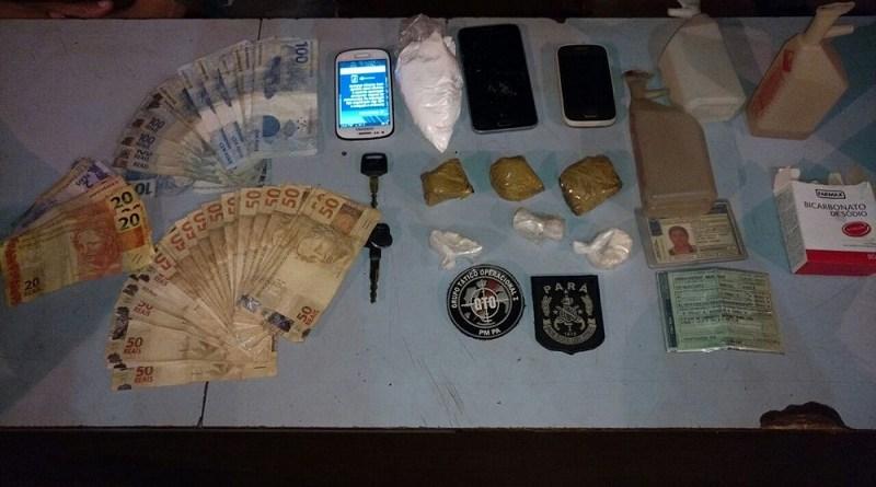 drogas-dinheiro-e-outros-materiais-apreendidos