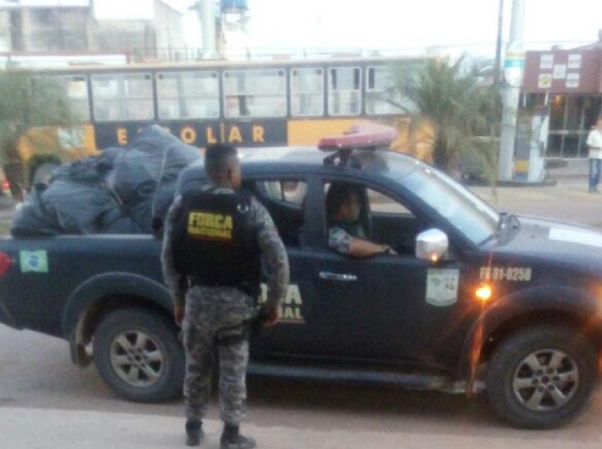 Força Nacional chega a Novo Progresso - Homem é assassinado na frente de agentes da segurança nacional