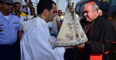 Imagem de Nossa Senhora de Nazaré visita o Rio de Janeiro