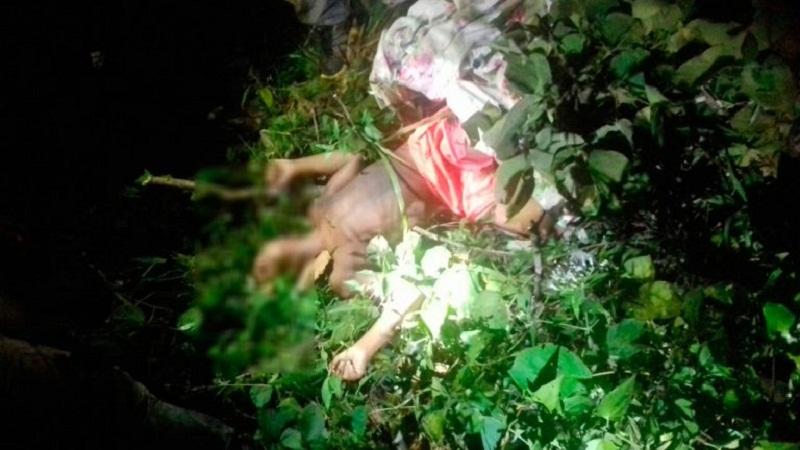 Corpo da criança de 12 anos, localizado em terreno baldio, no bairro Vigia.