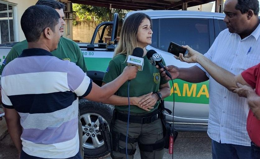 Maria Luiza -'As pessoas que nos ameaçam vivem do crime
