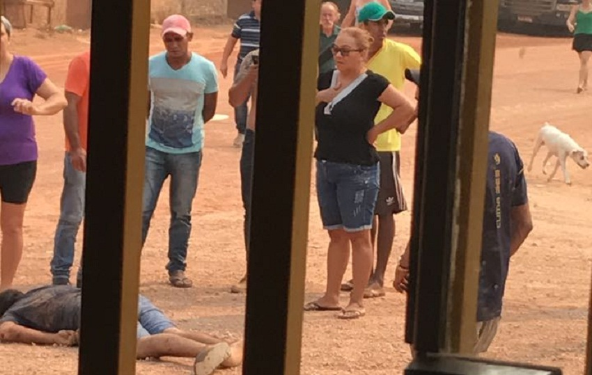 Homem é morto a tiros no bairro Jardim Planalto , em Novo Progresso