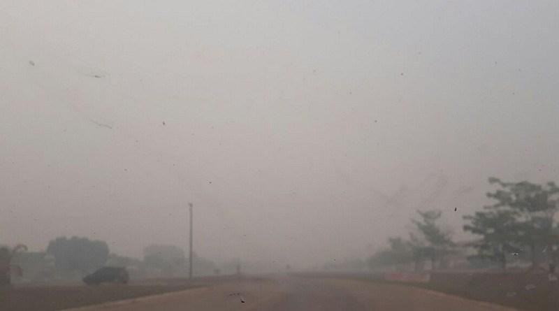 poeira fumaça