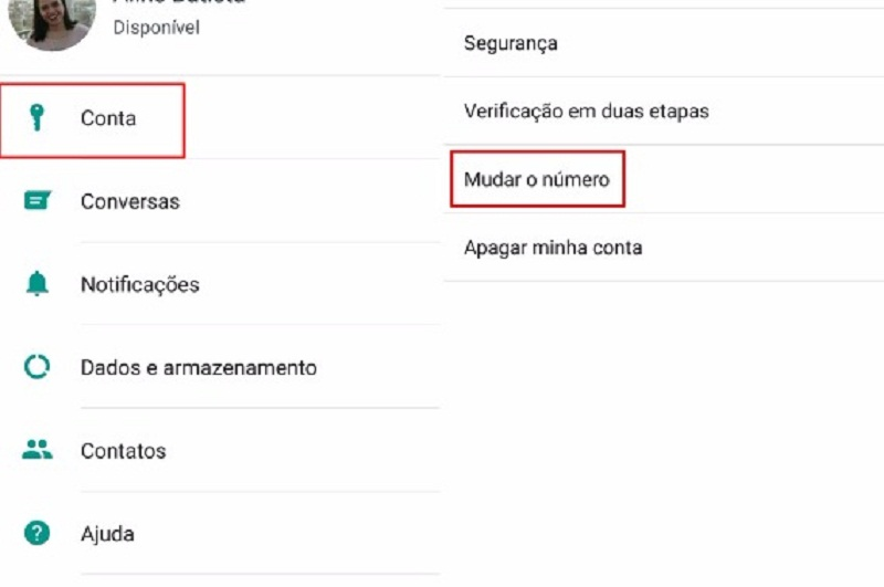 WhatsApp Beta agora notifica mudança de número