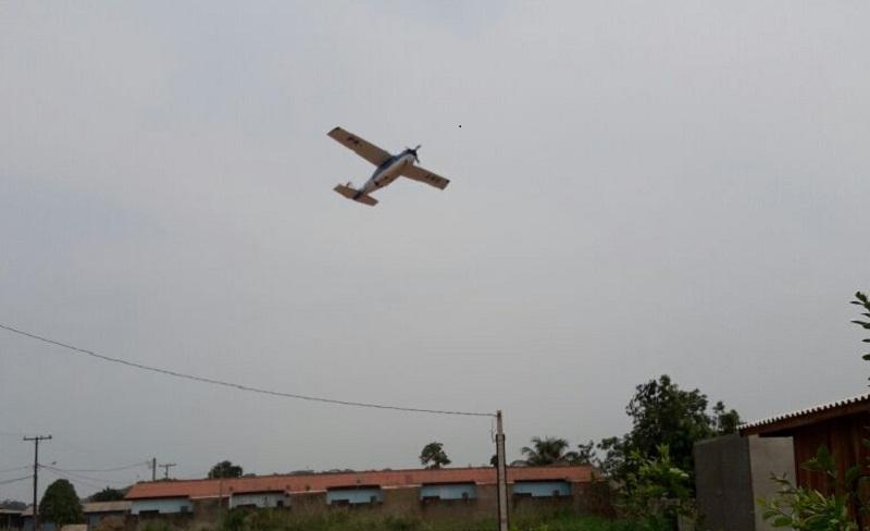Pilotos fazem voo rasante e coloca pessoas sob risco em Novo Progresso
