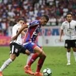 Corinthians perde do Bahia com falha de Fagner e Cássio atacante