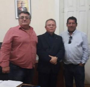 Vereadores Juarez ,Chico Souza com vice- governador Zequinha Marinho (PSC)