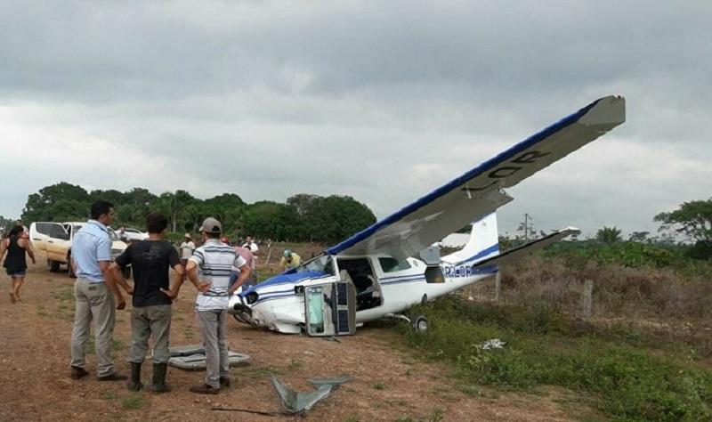 Piloto de Novo Progresso cai com aeronave em São Felix do Xingu