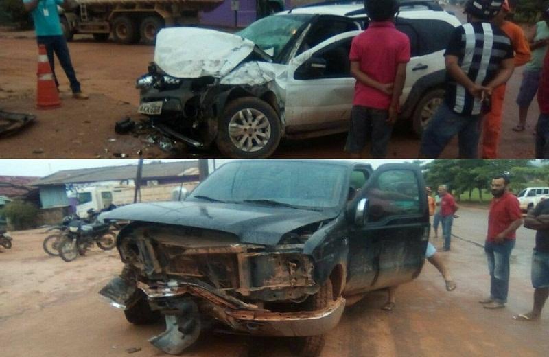 Passageiro morre após acidente entre dois veículos em Novo Progresso