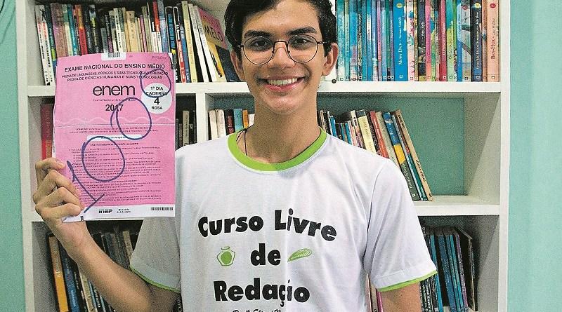 Vinicius dedicava à Redação cerca de 4 horas por dia (Foto: Divulgação)
